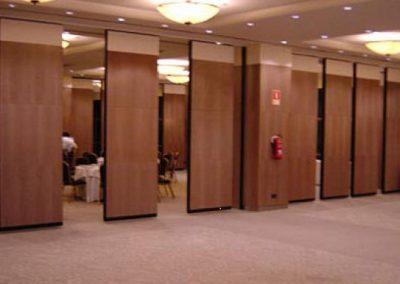 Tabique móvil Hotel Madrid