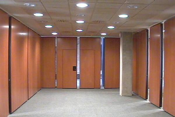 Tabique móvil oficinas Mapfre en Madrid