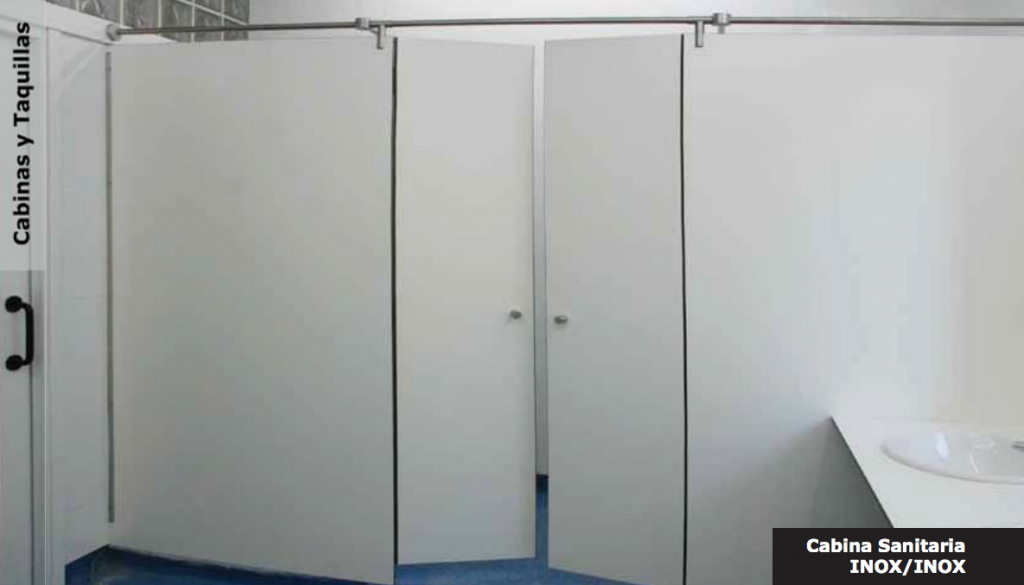 cabinas sanitarias fenólicas