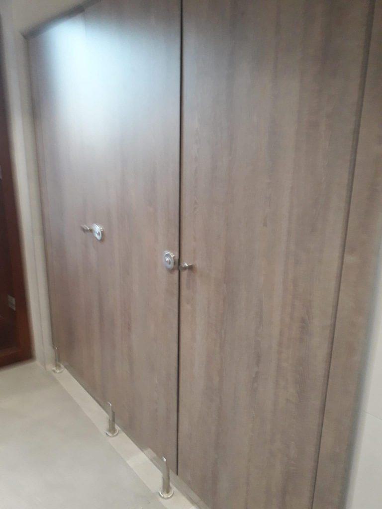 cabinas sanitarias - mamparas de baño